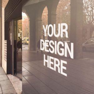 Window-lettering